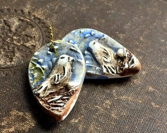 Meadowlark Vignette Earring Charms