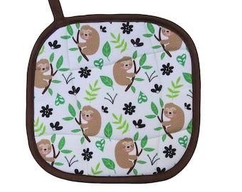 Sloths Pot Holder