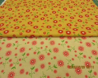 Delighted for Riley Blake 2 Fabric Lot
