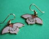 VINTAGE Laurel Burch DESERT FLOWER dangle earrings