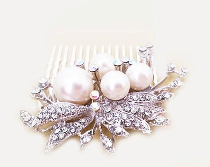 Art Deco Bridal Comb