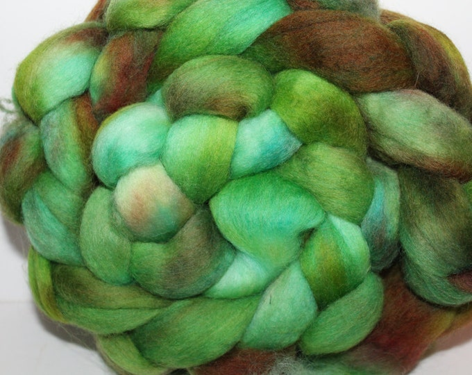 Kette Dyed Polwarth wool top. Roving. Spin. Felt. Super Soft. 4oz FREE SHIP #P26
