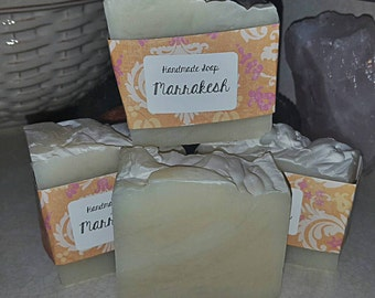 Marrakesh scented handmade soap