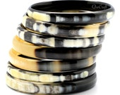 Horn Bangle Bracelets - Q9308
