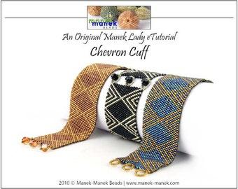 eTUTORIAL Chevron Cuff
