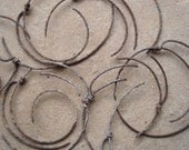 Rusty Metal Grungy Spring Spirals Sections Found Objects - Recycled Bits  for Assemblage, Altered Art , Sculpture - Industrial Salvage