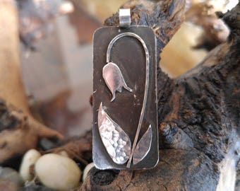 Nature inspired Pendants - Sterling Silver