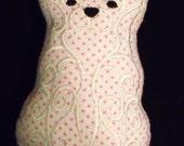 SALE!!!!! ----- Cupcake, the Pocket Polar Bear Pillow - Stuffed Toy