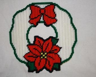 Poinsetia wreath