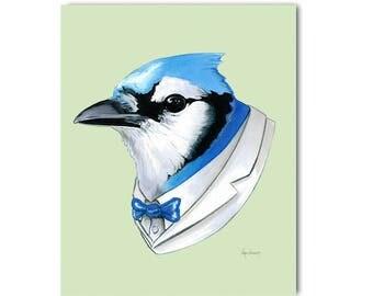 Blue Jay print 5x7