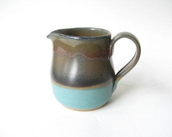 Pottery Pitcher 2 Cup