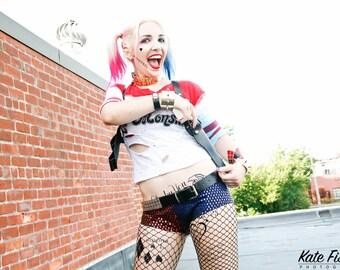 """Harley Quinn Suicide Squad Gun 8""""x10"""" print"""