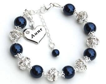 Aunt Gift, Aunt Jewelry, Aunt Bracelet, New Aunt, Gift for Auntie, Under 50, Aunt to Be Gift, Aunt Gift Ideas