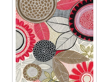 SALE /// BOTANICA 2017 large wall calendar
