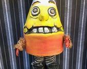 Halloween candy corn BUCKWHEAT figurine decor art doll miniature BJD Blythe prop