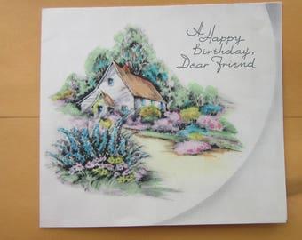 friend birthday card download