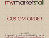 Custom Order for Pati