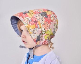 Liberty of London Reversible Baby Bonnet