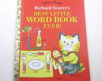 Richard Scarry's Best Little Word Book Ever for Children