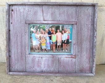 Rustic Redwood Picture Frame 5x7