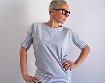 Batwing t shirt,Organic cotton tee,women shirts,t shirt,short sleeve tee,t shirts,women,batwing tee,cool t shirt,unique t shirt