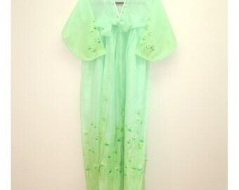Little Tulips - Vintage Korean Hanbok Jacket Blouse Shirt Sheer