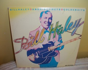 Bill Haley and His Comets Golden Hits Vinyl Record Album  NEAR MINT Double Album Set
