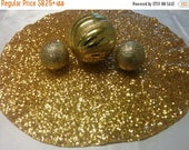 """ON SALE SEQUIN Table Linens - Colors, Rounds, Squares, Placemats, Bling Square, Round 12, 14"""" 16, 18""""  Silver, Gold, Purple, Red Turquoise W"""