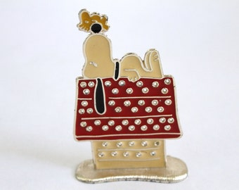 Vintage Snoopy Earring Holder
