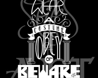 Rules of Halloween (#1)