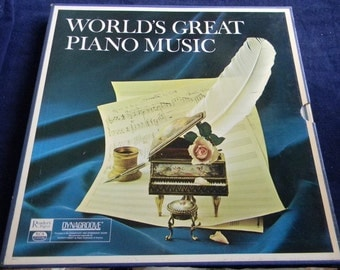 Vintage World's Great Piano Music Boxed Set, Chopin, Arensky, Liszt, Weber and More