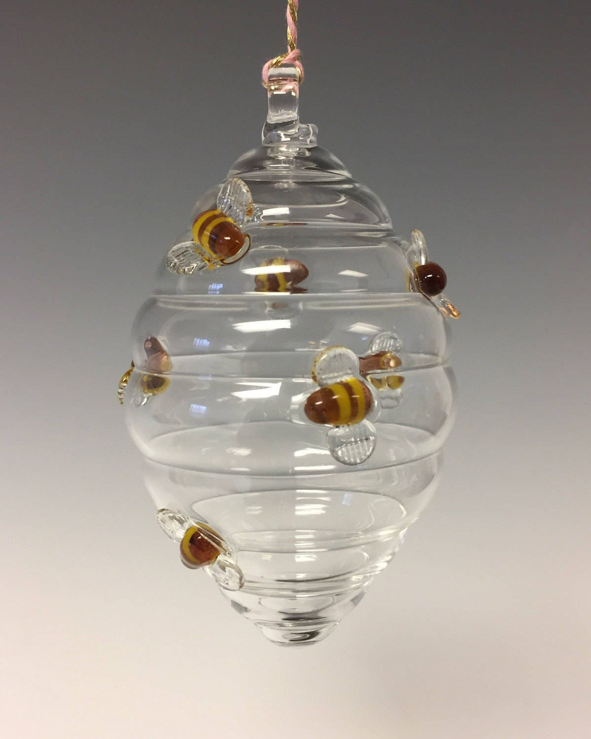 Beehive ornament - Beehive Ornament