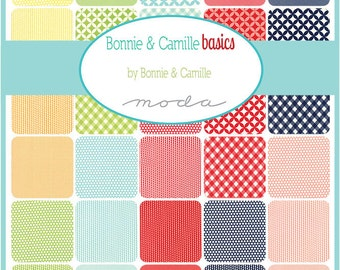 SALE!! Basics Half Yard bundle by Bonnie and Camille -  Complete set