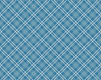 Gingham  Girls, By Amy Smart  Plaid Blue C5904-Blue