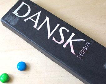 Dansk Denmark hand-dipped taper candles. No 1411.