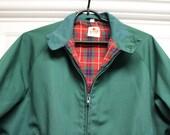 VINTAGE Baracuta Men's Jacket - Joseph & Feiss Co. Taiwan - 38 Reg - Red Plaid