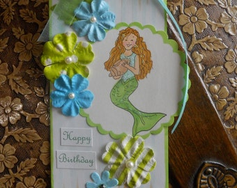 REDUCED -Mermaid Gift Tag