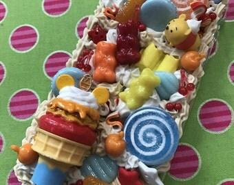 Kawaii Cake Mint Bear Pastel Decoden iPhone 7 Case