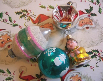odds and ends glass ornaments