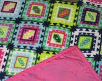 Picnic Blankets - Waterproof Picnic Blanket - Decorative Diamonds