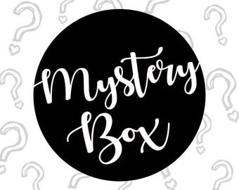 Mystery Box filled w/ 8+ assorted goodies, Mother's Day Gift, Gift for Her, Bundle Box, Gift Box, Blind Box