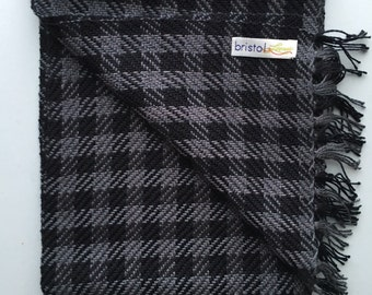 Men's Plaid Scarf