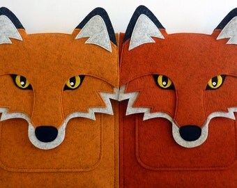 Fox MacBook Pro 15 inch case // Touch bar and Retina // Woodland animal laptop sleeve // Laptop case