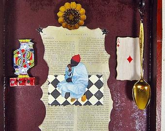 Assemblage Art - Shadow Box Art - Found Objects - 3D Art - Mixed Media Art - Other Assemblage - Wall Decor - Box Art - Original Art