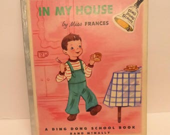 Vintage Ding Dong School Book In My House by Miss Frances