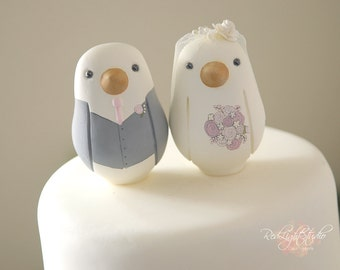 Bird Wedding Cake Toppers - Medium
