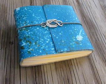 SALE forget me knot pocket journal small size knot journal gift - tremundo
