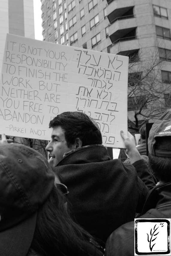 """Pirkei Avot,"" New York City Women's March, 2017."