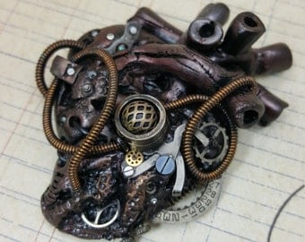 Inner Workings No.3 - Limited Edition Anatomical Heart Necklace