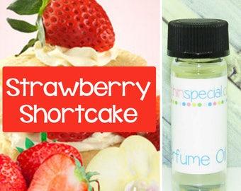 Strawberry Shortcake Perfume Oil, Perfume Sample, Sample Oil, Strawberry Perfume, Cake Perfume, Vanilla Cake, Strawberries, Cream